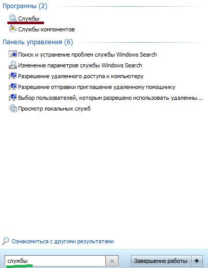 Svchost.exe грузит процессор windows 7