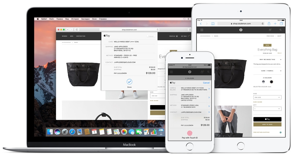 apple pay в России оплата mastercart сбербанк