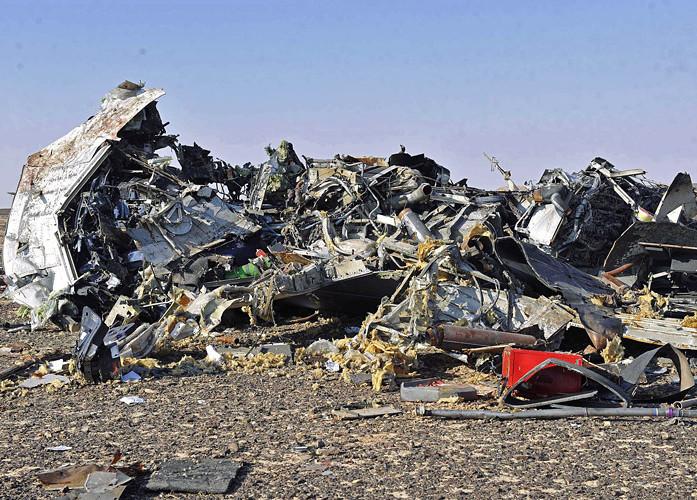 авиакатастрофа в небе над Египтом